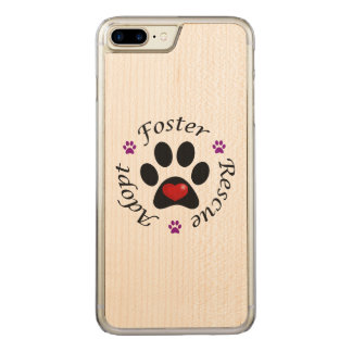 Animal Rescue Carved iPhone 7 Plus Case