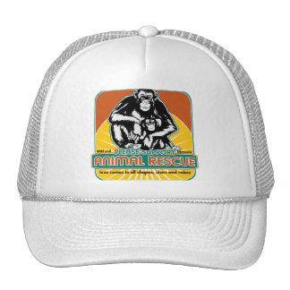 Animal Rescue Chimpanzee Trucker Hats