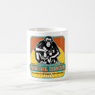 Animal Rescue Chimpanzee Mug