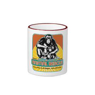 Animal Rescue Chimpanzee Coffee Mug