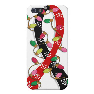 Animal Rescue Christmas Lights Ribbon Covers For iPhone 5