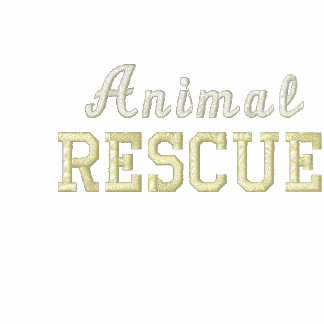 Animal Rescue Embroidered Hoodie