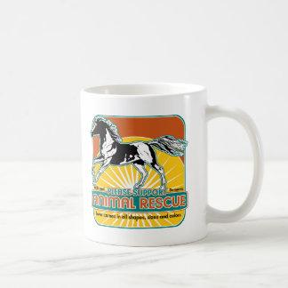 Animal Rescue Horse Coffee Mugs