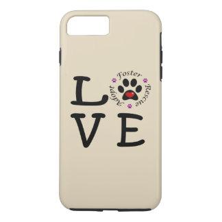 Animal Rescue Love iPhone 7 Plus Tough Case