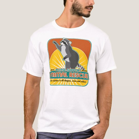Animal Rescue Racoon T-Shirt