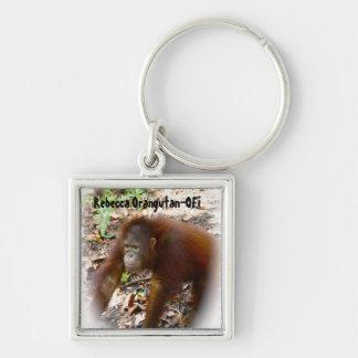 Animal Rescue Rebecca Orangutan Keychains