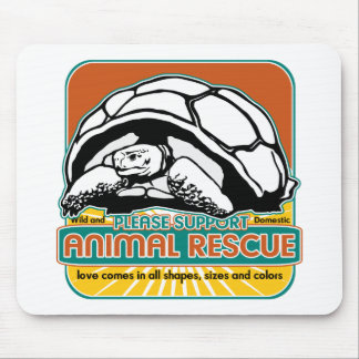 Animal Rescue Turtle Mouse Pad