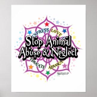 Animal Rights Lotus Poster
