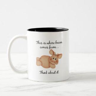 Animal Rights Pig Gift Coffee Mug