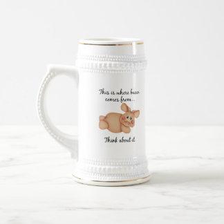 Animal Rights Pig Gift Coffee Mugs