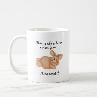 Animal Rights Pig Gift Mugs