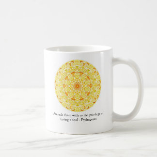 Animal Rights quote by Pythagoras mug