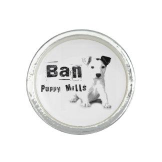 Animal rights ring ban puppy mills dog lover ring