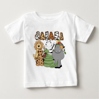 Animal Safari Baby T-Shirt