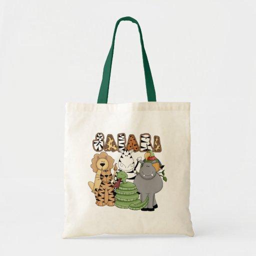 Animal Safari Budget Tote Bag