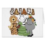 Animal Safari Greeting Card