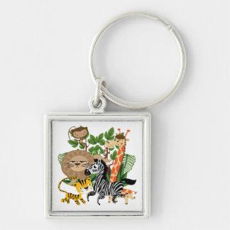 Animal Safari Keychain