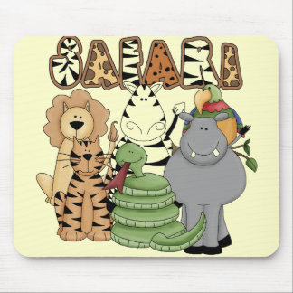 Animal Safari Mouse Pad