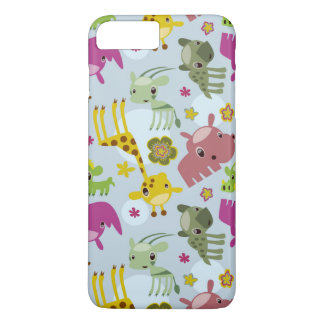 animal safari pattern iPhone 8 plus/7 plus case