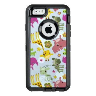 animal safari pattern OtterBox defender iPhone case