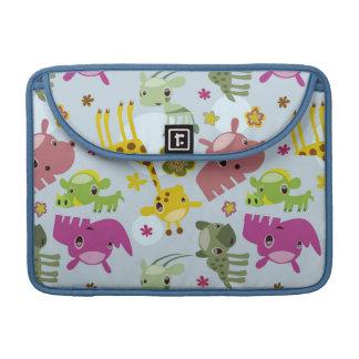animal safari pattern sleeve for MacBook pro