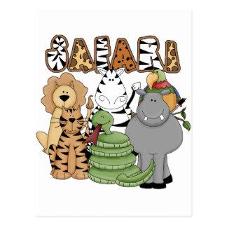 Animal Safari Postcards