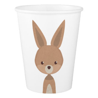 Animal set #1 paper cup