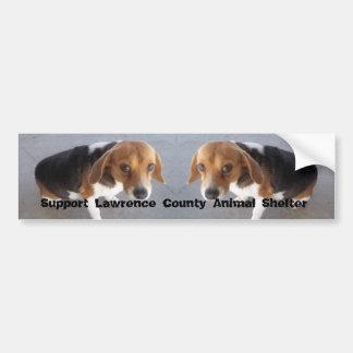 Animal Shelter Bumper Sticker Car Bumper Sticker