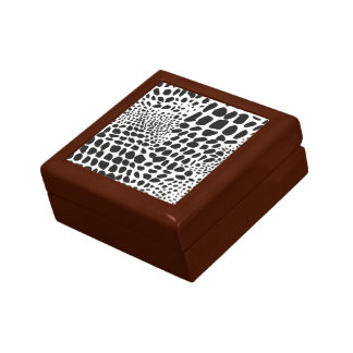 Animal Skin in Black and White Gift Box