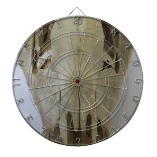 animal skull dartboard