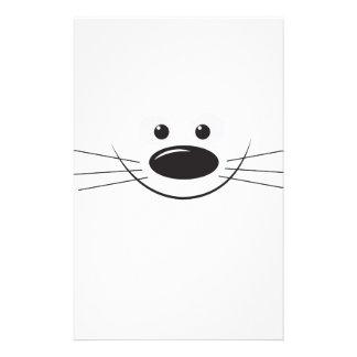 Animal smile customized stationery