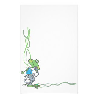 Animal Stationary Pet Lovers Frog Stationary Customized Stationery