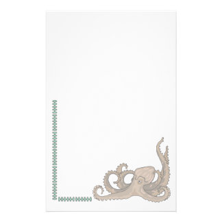 Animal Stationary Pet Lovers Octopus Stationary Customised Stationery