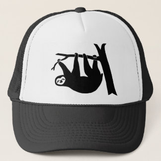 animal t-shirt sloth faultier faul lazy trucker hat