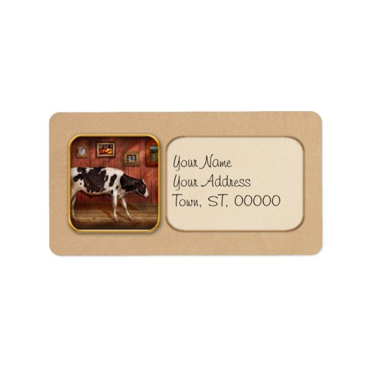 Animal - The Cow Address Label