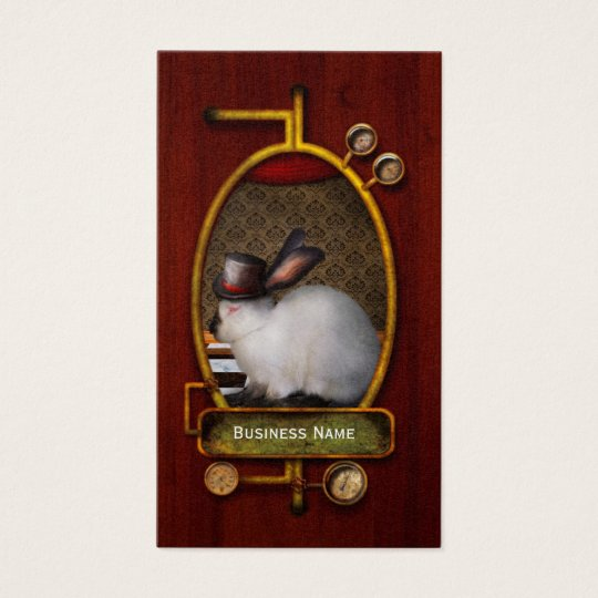 Animal - The Rabbit - Reverse version Business Card
