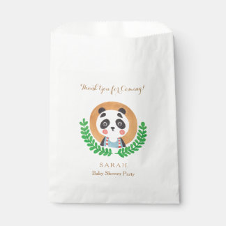 Animal Theme - The Cute Panda Favor Bag Favour Bags