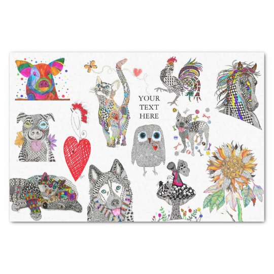 Animal Tissue Paper (You can Customise)