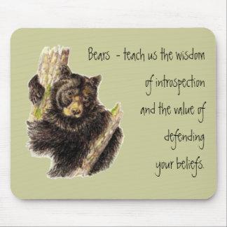 Animal Totem, Bears Nature, Spirit Guide Mouse Mat