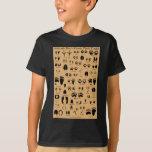 Animal Tracks Pawprints Poster Tshirt
