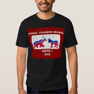 animal trainers needed t shirt