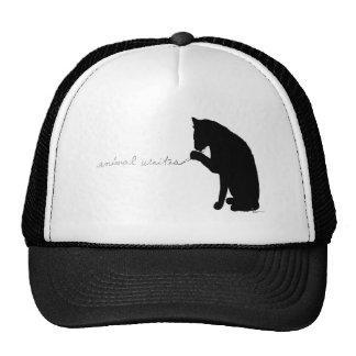 """""""animal writes"""" cap"""