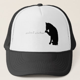"""animal writes"" trucker hat"