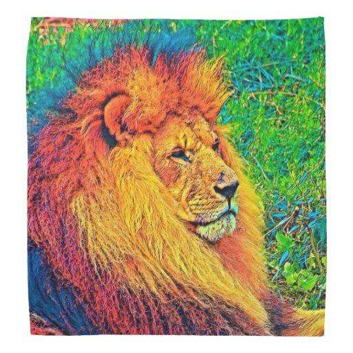 AnimalColor_Lion_003_by_JAMColors Bandana