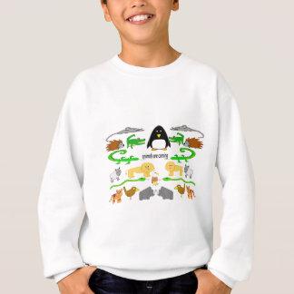 Animals are coming sweatshirt