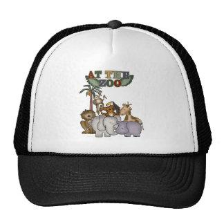 Animals At the Zoo Trucker Hats