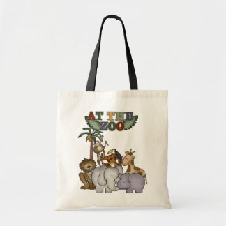 Animals at the Zoo Tshirts and Gifts Tote Bag