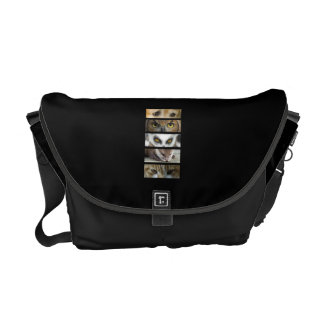 Animals Eyes Courier Bag