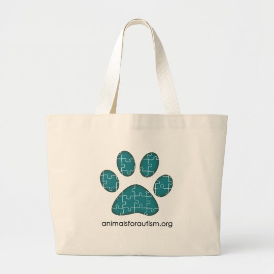 Animals for Autism Signature Logo bag