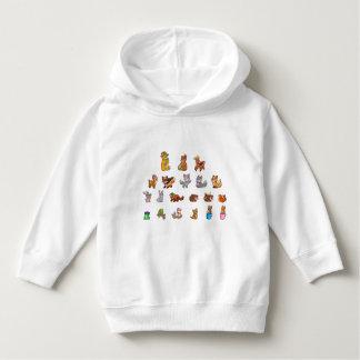 Animals Girl's Ringer T-Shirt